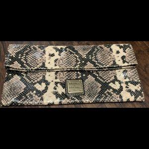 Dooney & Bourke snakeskin clutch